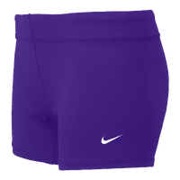 Nike Team Performance Game Shorts - Women's - Purple / Purple