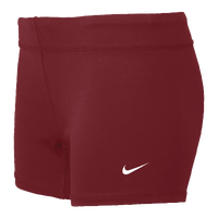 Nike Team Performance Game Shorts - Women's - Maroon / Maroon