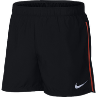 "Nike Dry 5"" Challenger Brief Shorts - Men's - Black / Black"