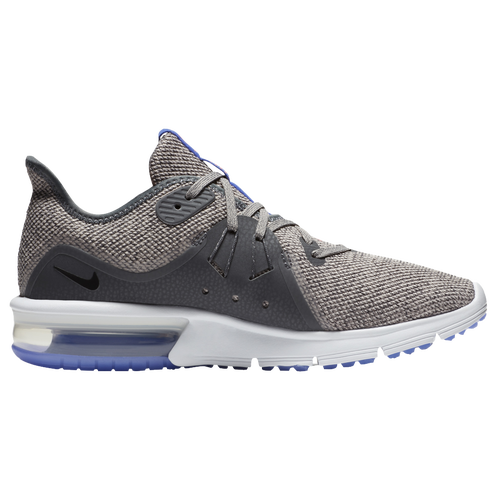 Nike Air Max Sequent 3 - Women's - Running - Shoes - Dark Grey/Black/Moon  Particle