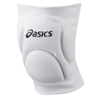 ASICS® Ace Low Profile Knee Pads - All White / White