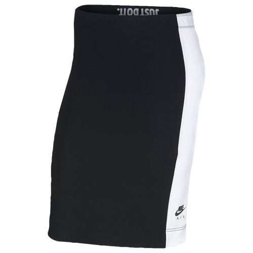 Nike Metallic Air Skirt - Women's Casual - Black/White 09329011