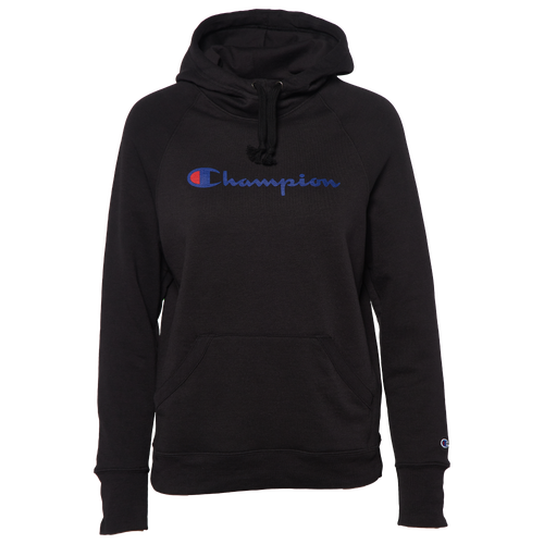 350f7f46d75 Champion Graphic Fleece Pullover Hoodie - Women's - Casual - Clothing -  Black