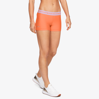 "Under Armour HeatGear Armour 3"" Shorty - Women's - Orange"