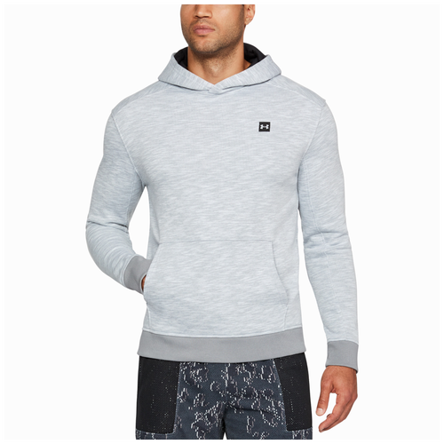 Under Armour Baseline Hoodie - Men's - Basketball - Clothing - True Grey  Heather/Black