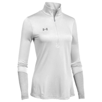 Under Armour Team Locker 1/2 Zip - Women's - White / Grey
