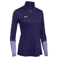 Under Armour Team Locker 1/2 Zip - Women's - Purple / Purple