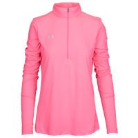 Under Armour Team Locker 1/2 Zip - Women's - Pink / Pink