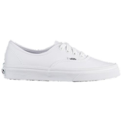 Vans Authentic - Boys  Grade School - Casual - Shoes - True White cb6e7a795