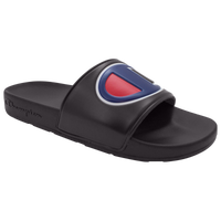 Champion IPO Slide - Men's - Black / Blue