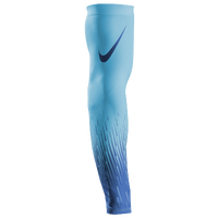 Nike Pro Baseball Flood Sleeve - Men's - Light Blue / Blue