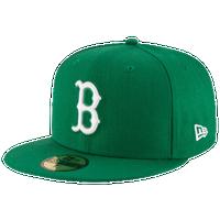 b637cc1d208 New Era MLB 59Fifty Cap - Men s - Boston Red Sox - Green   White