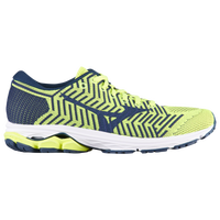 Mizuno Wave Rider 22 Knit - Men's - Light Green / Navy