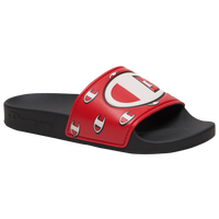 Champion IPO Repeat Slide - Boys' Grade School - Black / Red