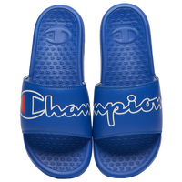 Champion Super Slide Split Script - Men's - Blue