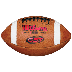 Wilson GST Official Game Football - Men's - Brown/Red