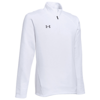 Under Armour Team Hustle 1/4 Zip Fleece - Men's - White / Grey
