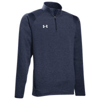 Under Armour Team Hustle 1/4 Zip Fleece - Men's - Navy / White