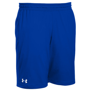Under Armour Team Pocketed Raid Shorts - Men's - Royal/White