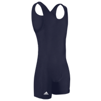 adidas aS101s Solid Wrestling Singlet - Men's - Navy
