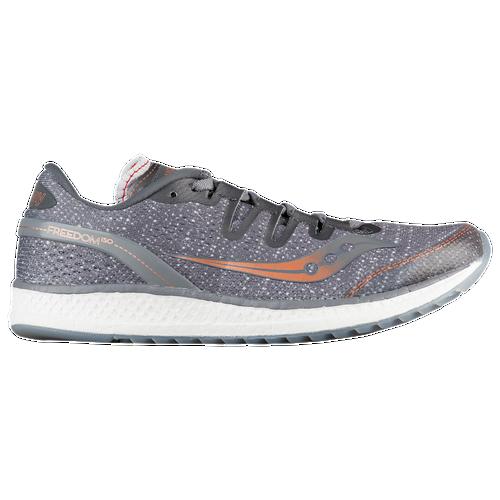 Saucony Freedom ISO - Women's Running Shoes - Grey/Denim/Copper 1035530