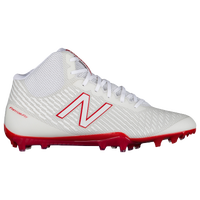 New Balance Burn X MID - Men's - White / Red