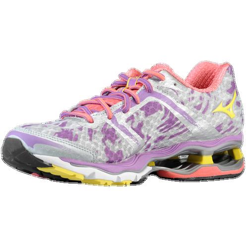 Mizuno Wave Creation 15 - Women's Running Shoes - Silver/Bolt/Dewbry 10568733