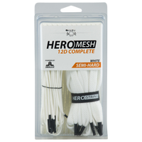 ECD Lacrosse Hero 3.0 Complete String Kit - Adult - White