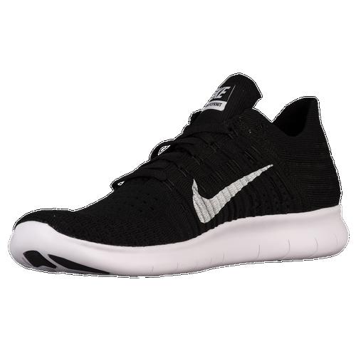 Nike Free RN Flyknit - Men's - Black / White
