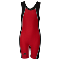 adidas Wide Side Panel Singlet - Boys' Grade School - Red / Black