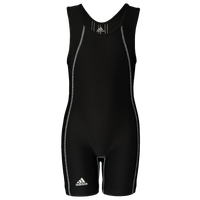 adidas Wide Side Panel Youth Singlet - Boys' Grade School - Black