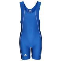 adidas Wide Side Panel Youth Singlet - Boys' Grade School - Blue
