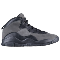 Jordan Retro 10 - Boys' Grade School - Grey / Black