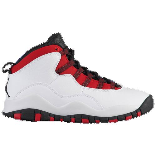 033a816448e Jordan Retro 10 - Boys  Grade School - Basketball - Shoes - White ...