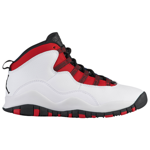6517a82605b4 Jordan Retro 10 - Boys  Grade School - Basketball - Shoes - White ...