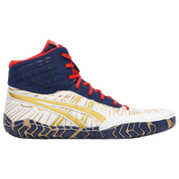 ASICS® Aggressor 4 - Men's - White / Navy
