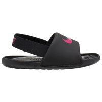Nike Kawa Slide - Girls' Toddler - Black
