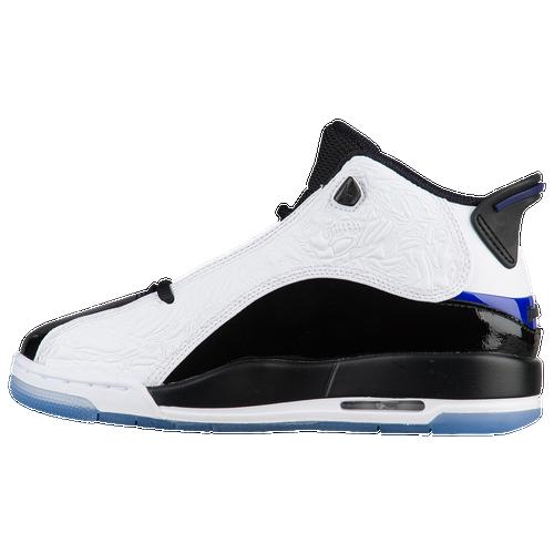Jordan Dub Zero - Boys' Grade School - Basketball - Shoes - White/Concord/ Black/White