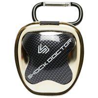 Shock Doctor Anti-Microbial Mouthguard Case - Gold