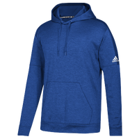 adidas Team Issue Fleece Pullover Hoodie - Men's - Blue / White