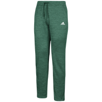 adidas Team Issue Fleece Pants - Men's - Dark Green / White