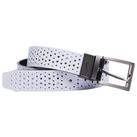 Nike Gradient Perforated Reversible Golf Belt - Men's - White