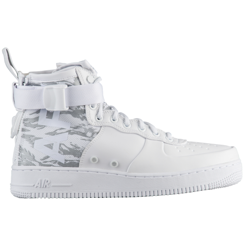 Nike SF Air Force 1 Mid 17 - Mens - Casual - Shoes - Vast GreyAtmosphere  Grey