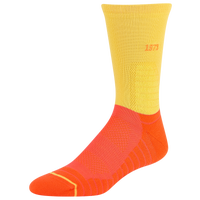 PUMA Court Three Crew Socks - Men's - Yellow / Orange