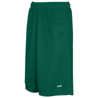 "Eastbay 13"" Mesh Short with Pockets - Men's - Green / Green"