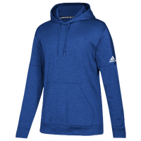 adidas Team Issue Fleece Pullover Hoodie - Women's - Blue / White