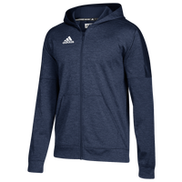 adidas Team Issue Full-Zip Hoodie - Women's - Navy