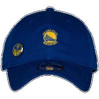 f300d407baaa41 New Era NBA Pin Adjustable Cap - Men's - Golden State Warriors - Blue / Gold