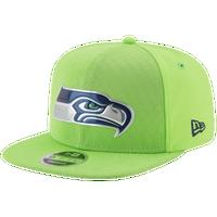 e055b8739 New Era NFL 9Fifty Color Rush Snapback - Men's - Seattle Seahawks - Light  Green /