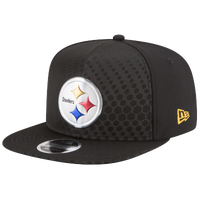 9328a455c38 New Era NFL 9Fifty Color Rush Snapback - Men s - Pittsburgh Steelers -  Black   White